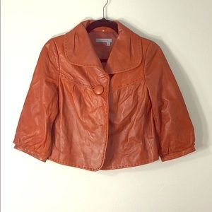 Leather vintage jacket